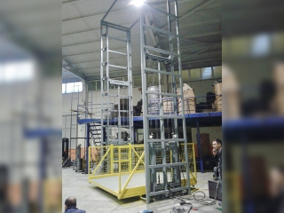 CYK 50 Double Sided Hydraulic Load Platforms